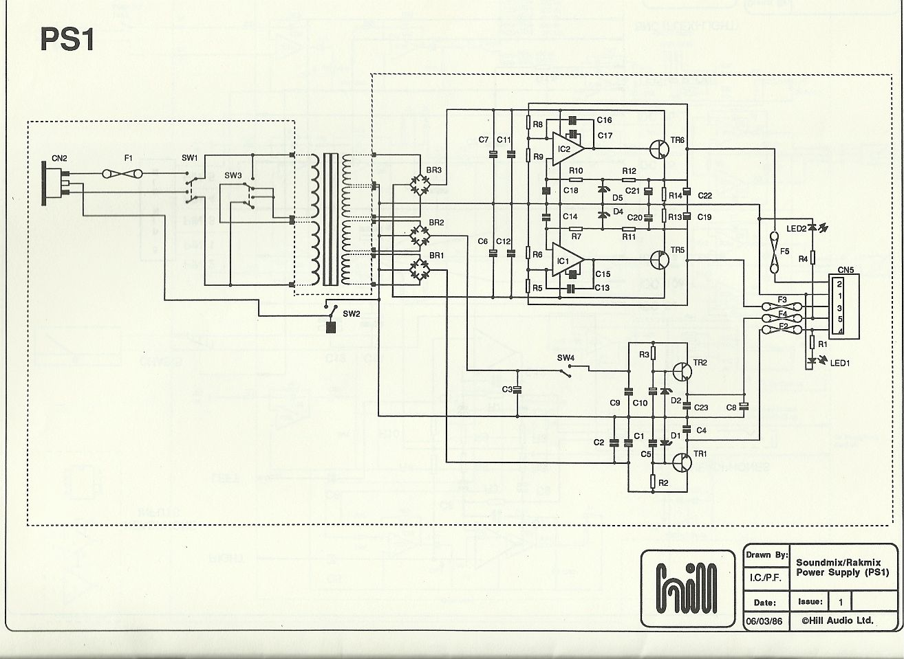 Hill Ps1 Power Supply Schematic